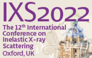 The 12th International Conference on Inelastic X-ray Scattering - IXS2022
