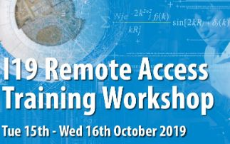 I19 Remote Access Training Workshop