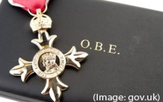 An OBE for Prof Andrew Harrison