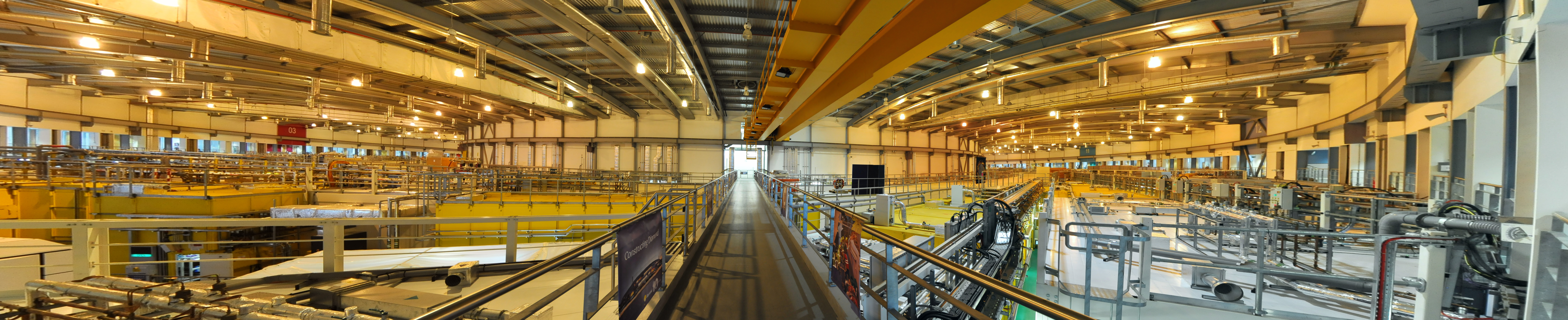 Experimental Hall Panorama. Copyright of Diamond Light Source Ltd.