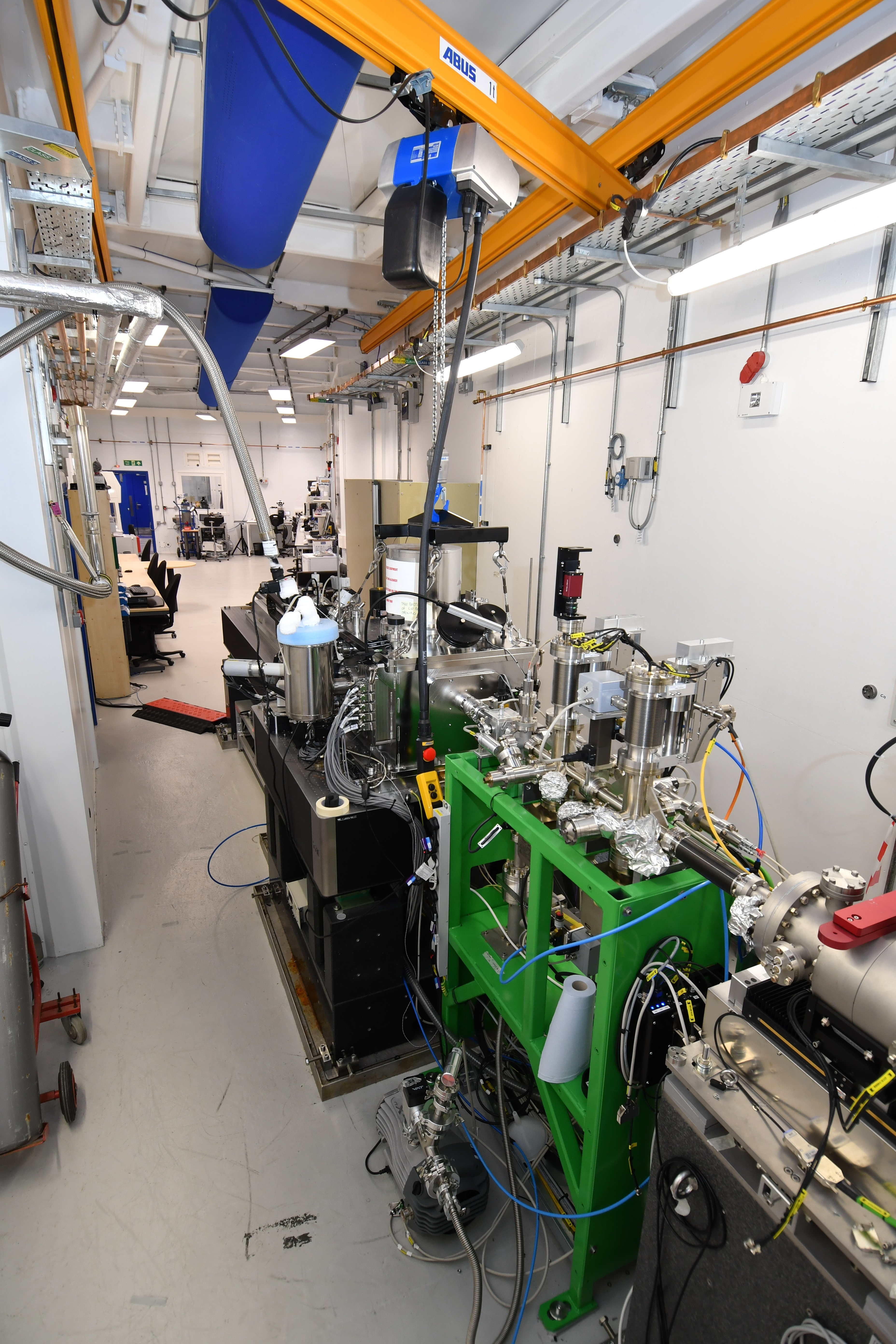 Microscopy beamline B24 at Diamond Light Source. Copyright of Diamond Light Source Ltd.