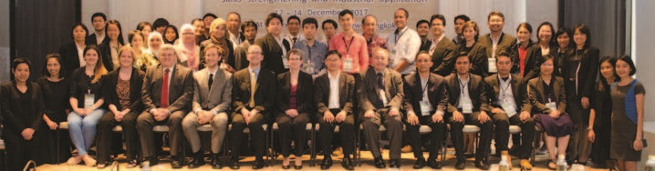 Figure 1: Participants in the Newton Fund workshop held in Bangkok in December 2017.