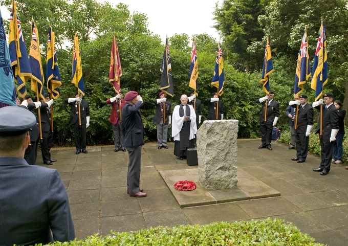 D-Day memorial service at Harwell